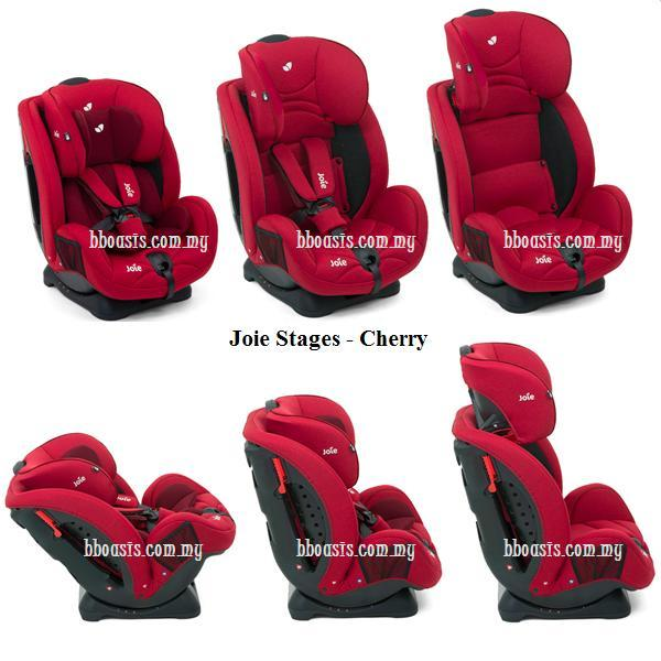 Joie Stages Cherry P website