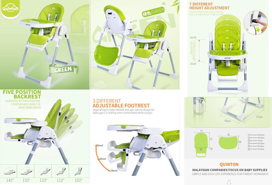 Quinton Hwugo Baby High Chair (P1) – Website