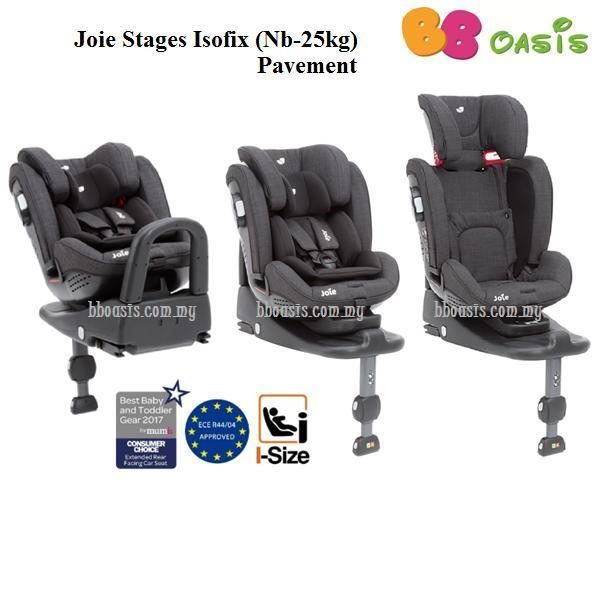 Joie Stages Isofix – Pavement website