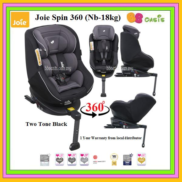 JOie Spin 360 -Two Tone Black