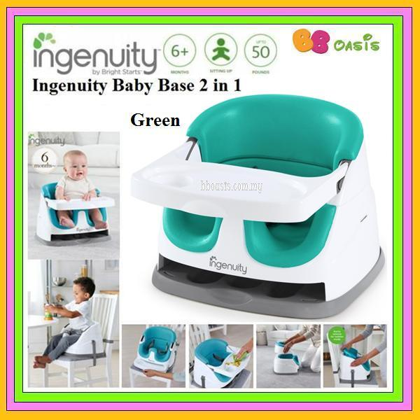 Ingenuity Baby Base 2 in 1 Version 3.0-Green