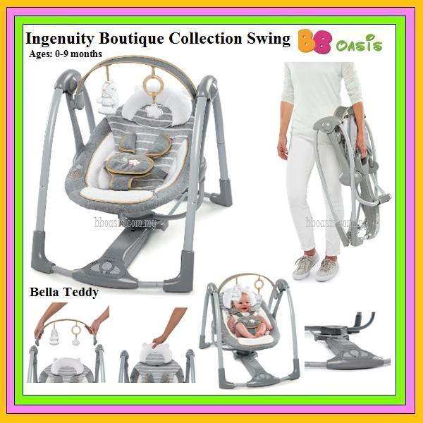 Ingenuity Boutique Collection Swing -Bella Teddy