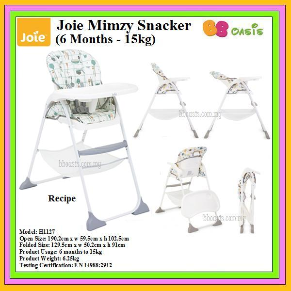 Joie Mimzy Snacker – Recipe