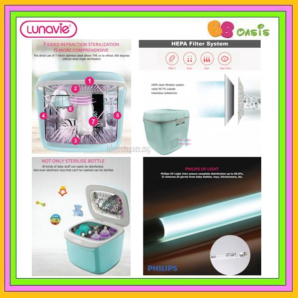 Lunavie Portable UV Sterilizer P2