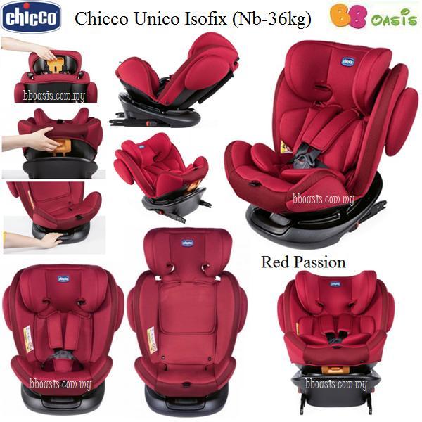 Chicco Unico Isofix – Red Passion