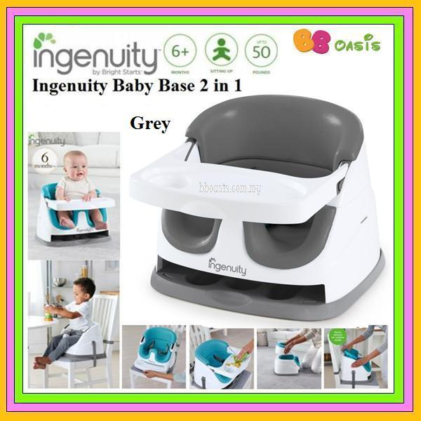 Ingenuity Baby Base 2 in 1 Version 3.0-Grey