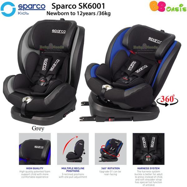 Sparco SK600I (Nb-36kg) Grey