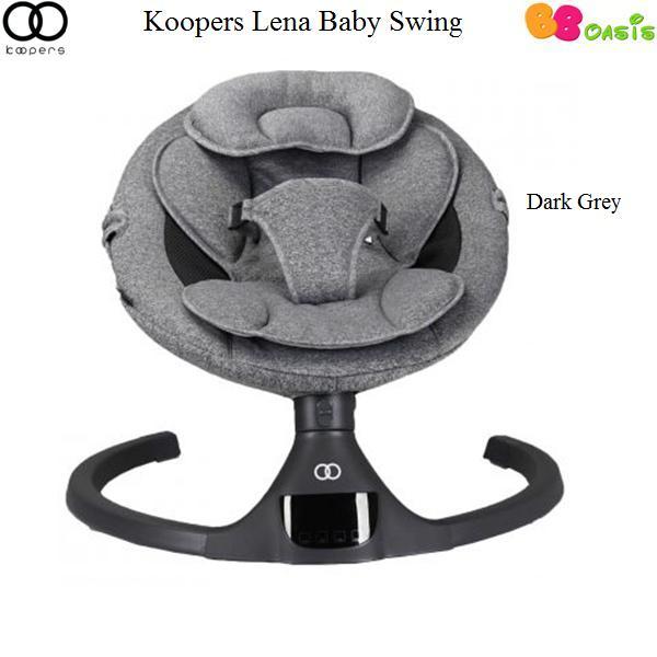 Koopers Lena Baby Swing -Dark Grey