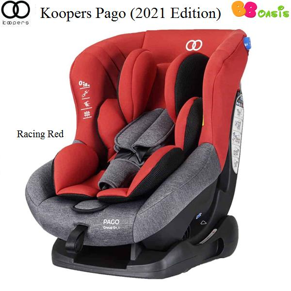Koopers Pago 2021 Edition Racing Red