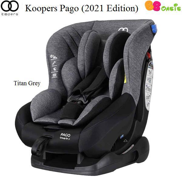 Koopers Pago 2021 Edition Titan Grey