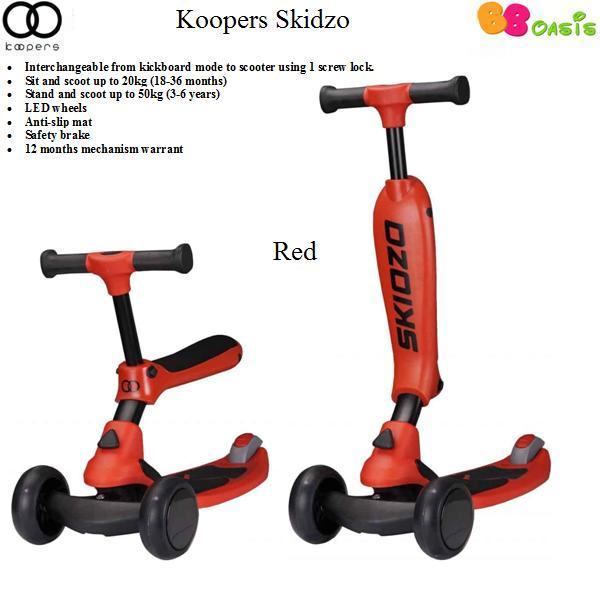 Koopers Skidzo -Red
