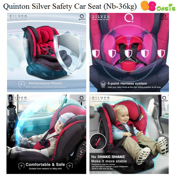Quinton Silver Safety Car Seat-3