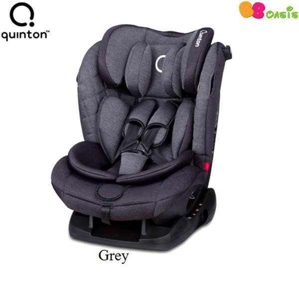 Quinton Silver Safety Car Seat -Grey